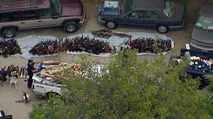 100 Holmby ATF LAPD Seize Massive Collection Of Weapons At