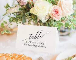 Wedding Place Cards Card Printable Template Rustic PDF Instant Download