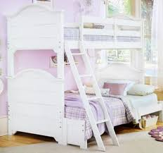 Twin Over Full White Bunk Bed – Furniture Favourites