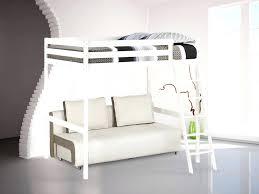 lit mezzanine avec canapé convertible fixé lit mezzanine avec canape convertible fixe avec ou sans matelas