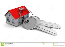 House With Keys Stock Illustration Of Investment