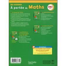 librairie saurs a portee de maths cm2 fichier eleve