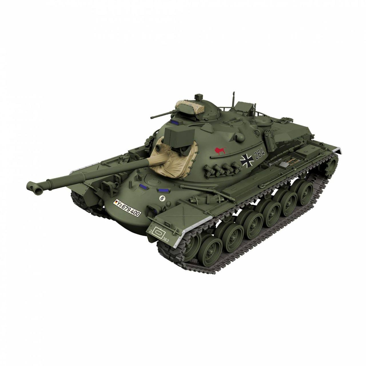 Revell - 1/35 M48 A2CG - Plastic Model Tank Kit (03287)