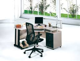 Single Workstation Executive Office Partition