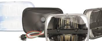 100 Truck Spotlights Lite Spotlights 5by7inch LED Headlamp