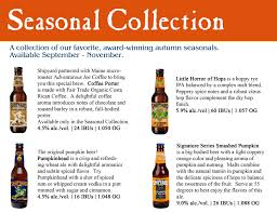 Smashed Pumpkin Beer Recipe by Shipyard Brewing Company U0027s Seasonal Collection Available Now
