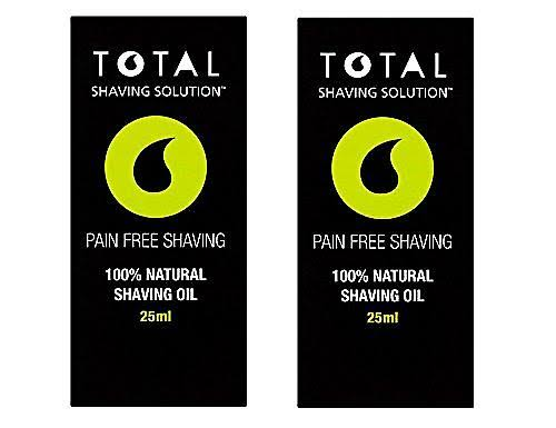 Total Shaving Solution 100 Percent Natural Shaving Oil - 10ml