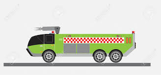 100 Airport Fire Truck Vector And Illustration Royalty Free Cliparts