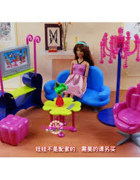 Barbie Living Room Furniture Set by New Christmas Gift Play House Toys For Children Furniture For Doll