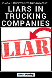100 Big Trucking Companies What Every Truck Driver Needs To Know About Liars In