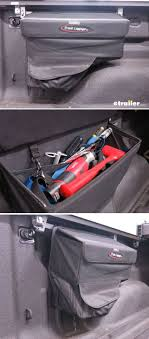 100 Truck Bed Bag TruXedo Luggage Saddle Rail Mounted Storage Box 18 X 6