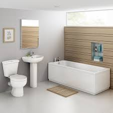 Abacus Bathrooms Series 1 Oval Inset Bath