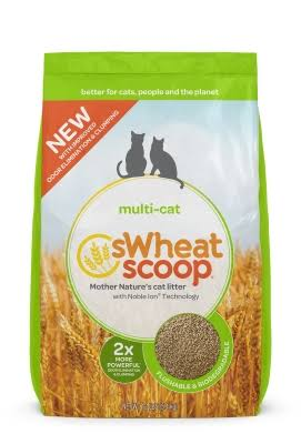 sWheat Scoop Multi Cat Litter - 12 lb