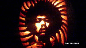 Tinkerbell Pumpkin Carving by Jimi Hendrix Carved Pumpkin 10 1 11 Youtube