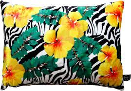 casa padrino luxus deko kissen florida flowers mehrfarbig 35 x 55 cm feinster samtstoff dekoratives wohnzimmer kissen barockgroßhandel de