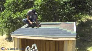 how to build a lean to shed part 7 roofing install youtube