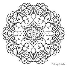 547x547 New Mandala Coloring Pages Pdf 84 In Online With