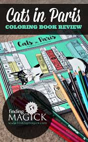Cats In Paris Coloring Book For Adults