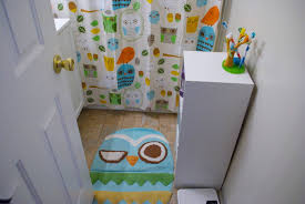nursery owl bathroom decor set decoration furniture