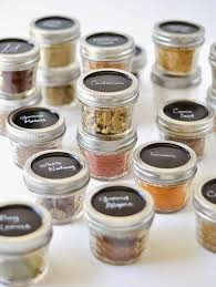 Applesandsparkle Mason Jar Spice Containers