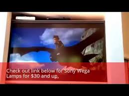 how to replace a sony wega tv l in less than 60 seconds kdf