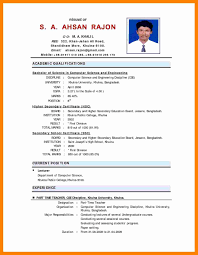 46 Luxury Resume Format For Lecturer In Computer Science