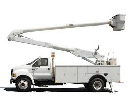 100 Altec Boom Truck 2000 FORD DIESEL ALTEC 50FT INSULATED BUCKET TRUCK NO CDL REQUIRED