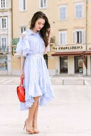 the perfect cold shoulder summer dress on a test
