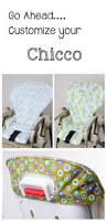 Cosco High Chair Seat Pad by Handmade And Stylish Replacement High Chair Covers For Chicco Www
