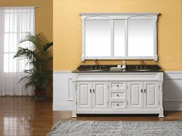 48 Inch Double Sink Vanity by Avola 78 Inch Double Sink Bathroom Vanity Set White Finish At