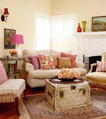 Shabby Chic Country Living Living Room Ideas Cottage Living Room