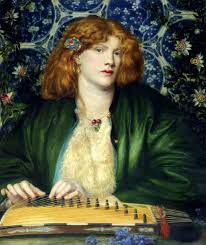 The Blue Bower By Dante Gabriel Rosetti From Love Letters To Rossetti