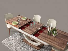 hübscher esszimmer tisch panama mit 4er set stühle moebel