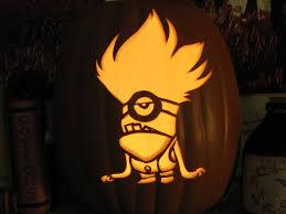 Minion Pumpkin Carving Template by Purple Minion Despicable Me Pumpkin Carving Purple Minion U2026 Flickr