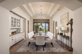 Imaginative Arched Entryway Dining Room Mediterranean Home Renovations With Interior Designers And Decorators