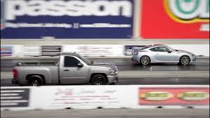100 Scion Pickup Truck Chevy Silverado Single Cab Vs FRS Drag Race YouTube