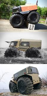 100 Mini Monster Truck Sherp ATV Gets Amphibious Upgrade Is A That Goes
