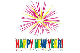 year 2015 fireworks clipart