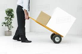 100 Moving Hand Truck Businessman Moving Boxes With Hand Truck Stock Photo Dissolve