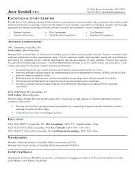 Sample Audit Resume Staff Accountant Examples Accounting Public