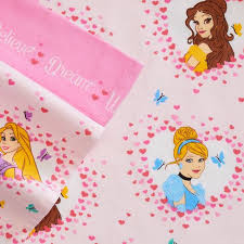 Disney Princess Bedroom Set by Disney Princess Cinderella Belle Flannel Sheet Set Twin Bed Sheets