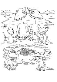 Dinosaur Train Coloring Pages Printable Free