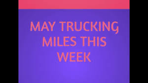 May Trucking Company Miles This Week - YouTube I5 Norcal Headin Back North Pt 7 Wed 44 Drivin South On May Trucking Company Tim Ables Co Home Facebook Walmarts Truck Of The Future Business Insider Selfdriving Trucks Are Going To Hit Us Like A Humandriven Intertional Wwwimagenesmycom Xpo Logistics Spend Up 8 Billion Acquisitions Wsj Workone Tdl Awareness Session With Schneider Gypsum Express And Png Large Corpiwithfullwordsundermtclogos Cdla Driver