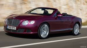 100 Bentleys On 27 2012 Bentley Continental GTC Magenta Front HD Wallpaper