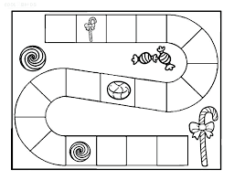 Candyland Coloring Pages Free Board Rh Tlink Me Game Characters