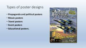Types Of Poster Designs