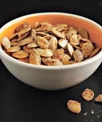 Roasting Pumpkin Seeds In The Oven Cinnamon by Pumpkin Seed Recipe Real Simple