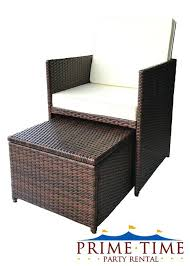 Patio Chair With Hidden Ottoman by Henry Link Wicker Chair Ottoman U2013 Keepcalm Me