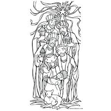 Nativity Coloring Sheets Printable Scene Pages Epiphany Catholic Page Free Christmas Story