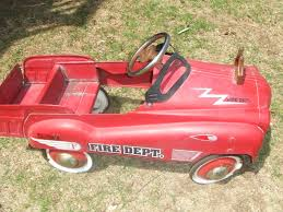 VINTAGE PEDAL CAR Fire Truck Collectible - $225.00 | PicClick Goki Vintage Fire Engine Ride On Pedal Truck Rrp 224 In Classic Metal Car Toy By Great Gizmos Sale Old Vintage 1955 Original Murray Jet Flow Fire Dept Truck Pedal Car Restoration C N Reproductions Inc Not Just For Kids Cars Could Fetch Thousands At Barrett Model T 1914 Firetruck Icm 24004 A Late 20th Century Buddy L Childs Hook And Ladder No9 Collectors Weekly Instep Red Walmartcom Stuff Buffyscarscom Page 2